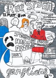 Het borderless Rae spoon poster